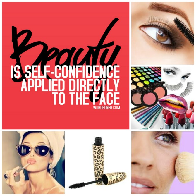 beauty is self confidence